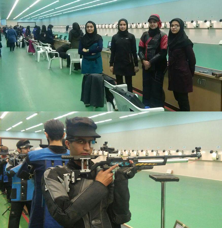 دانشجویان تیرانداز یزدی