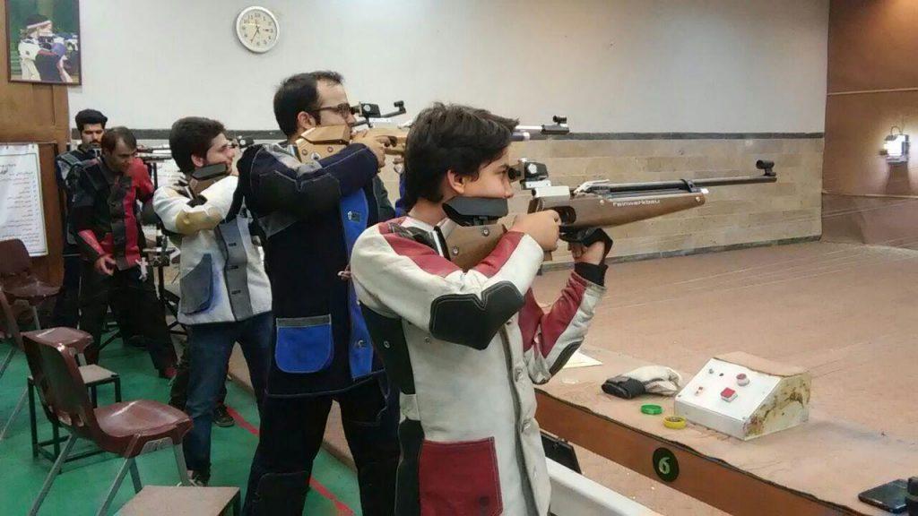 مسابقه تیراندازی استان یزد